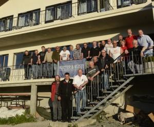 Alle Teilnehmer, Betreuer und Organisatoren des K&K-Cups.